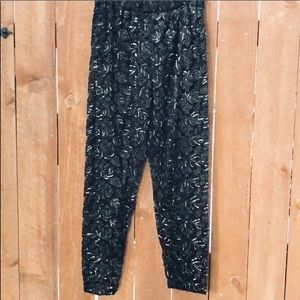 Designer Fully Beaded Lace Pants